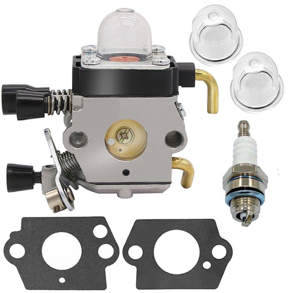 Carburetor for Stihl FS80 Carburetor - STIHL FC55 FC75 FC85 FS310 FS38 FS45 FS45C FS45L FS46 FS55 FS55C FS55R FS55RC FS55T FS74 FS75 FS76 FS80 FS85 HL45 HL75 HS45 HS75 HS80 HS85 ZAMA Carburetor (FS80) by HOOAI