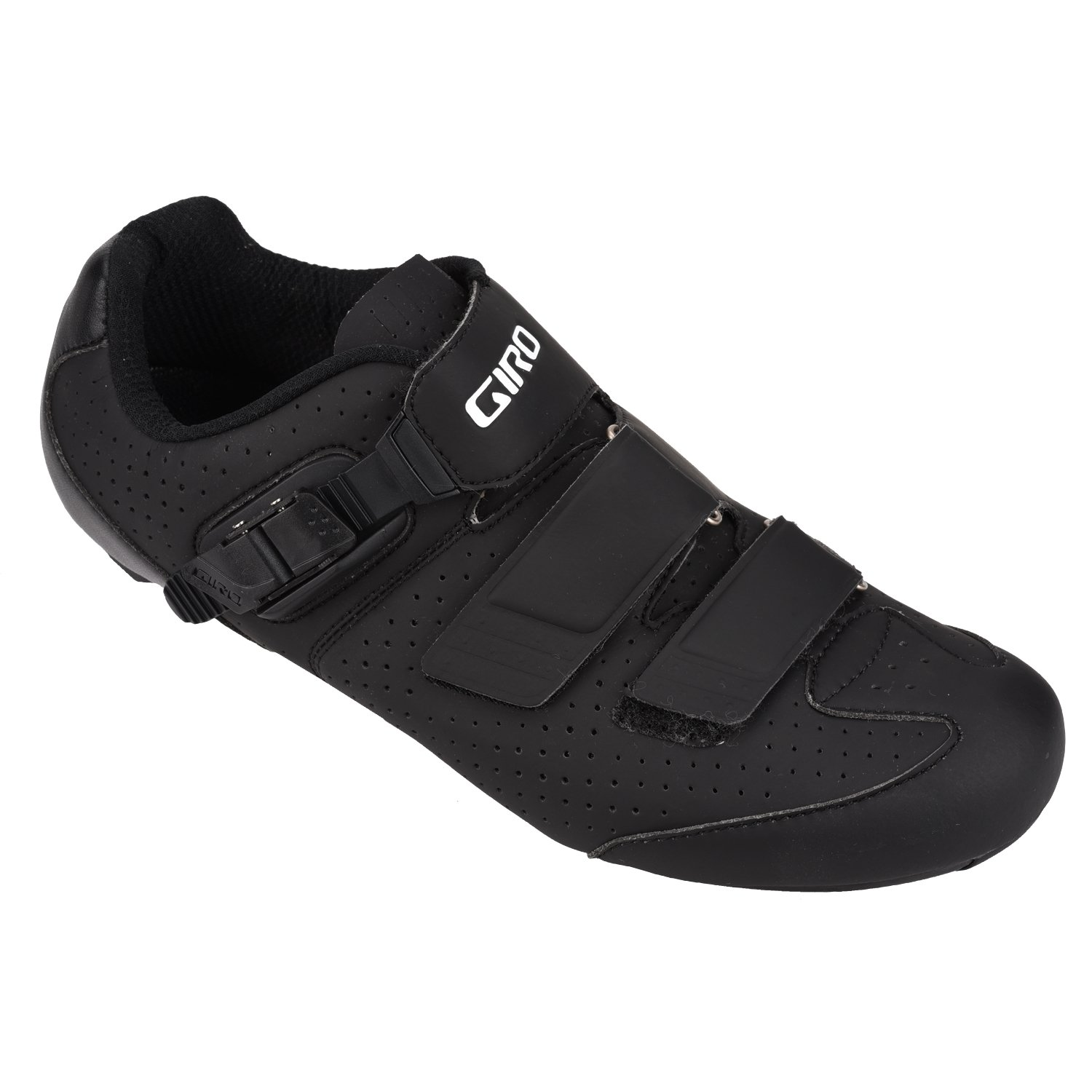 Giro 2016 Men's Trans E70 HV WIDE Road Bike Shoes (Matte Black/Black - 42) by Giro