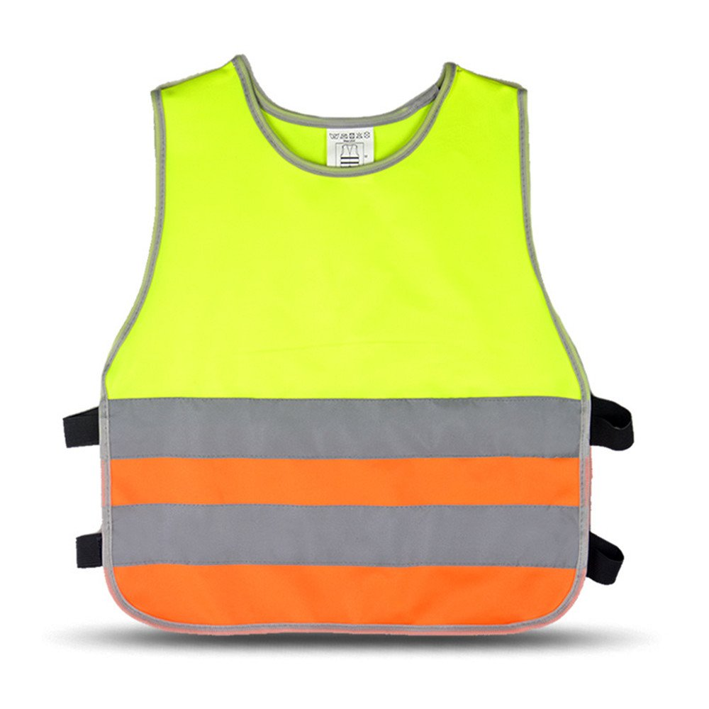 6f1e42173188 Cute kids s High Visibility Reflective Vest Working Clothes Cycling ...