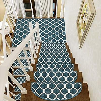 Alfombras 1 unids interior peldaños de la escalera antideslizante alfombra alfombra interior peldaños de la pisada esteras alfombras con buen respaldo para escaleras Alfombras (Color : 3 , Size : F) : Amazon.es: Hogar
