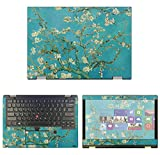 "decalrus - Protective Decal Floral Skin Sticker for Lenovo ThinkPad Yoga L380 (13.3"" Screen) case Cover wrap LEthnkpadYoga_L380-230"