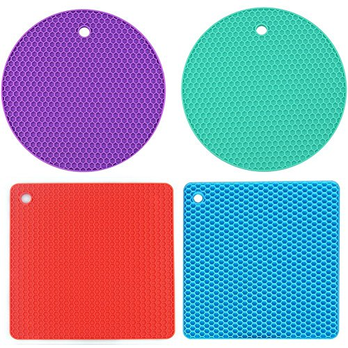 AxeSickle Set Silicone Trivet Countertop product image