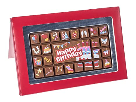 Tableta de chocolate con caja de regalo -