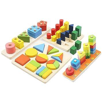 「積み木 パズル 知育玩具」の画像検索結果