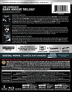 Dark Knight Trilogy UHD/BD [Blu-ray] at Gotham City Store