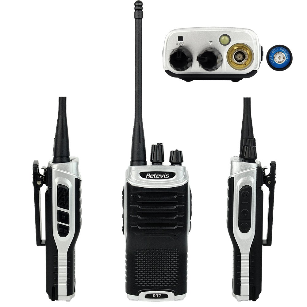 Retevis RT7 Walkie Talkies UHF 400-470MHz 3W 16CH Two Way Radio with Earpiece(20 Pack) and Programming Cable by Retevis (Image #9)