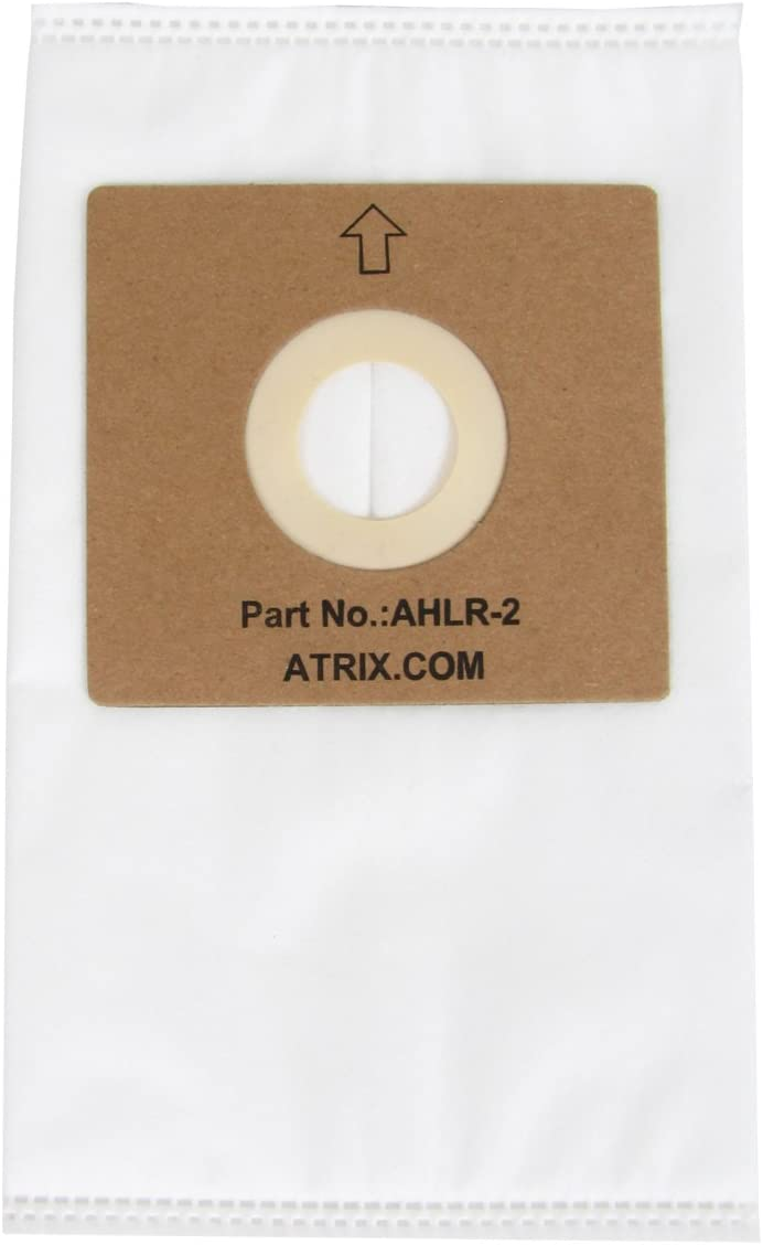 Atrix - AHLR-2 HEPA Filter Bags - Replacement Vac Filter Bag for AHSC-1 Lil Red Vacuum Cleaner (5-Pack)