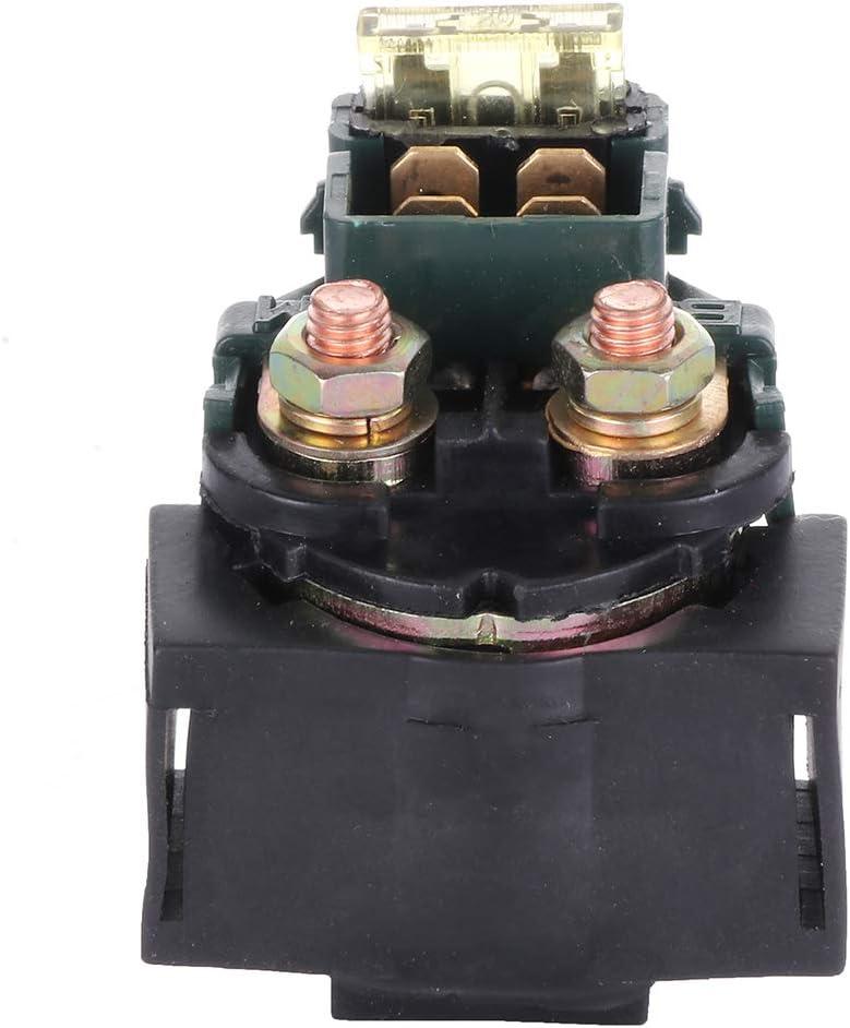 TUPARTS Starter Relay Solenoid Fit For Kawasaki ATV Bayou 220 KLF220 1988 1989 1990 1991 1992 1993 1994 1995 1996 1997 1998 1999 2000 2001 2002 RL1552RE116AR 12V