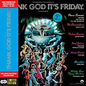 Thank God It's Friday - Cardboard Sleeve - High-Definition CD Deluxe Vinyl Replica