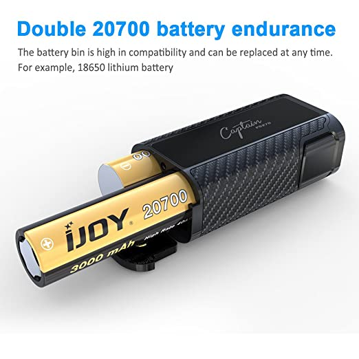 IJOY Captain 234w caja mod Pd270 adaptador 20700 Vape batería, e Cig vaporizador, huge vapor cigarrillo electrónico TC Cigs, no e liquido, ...