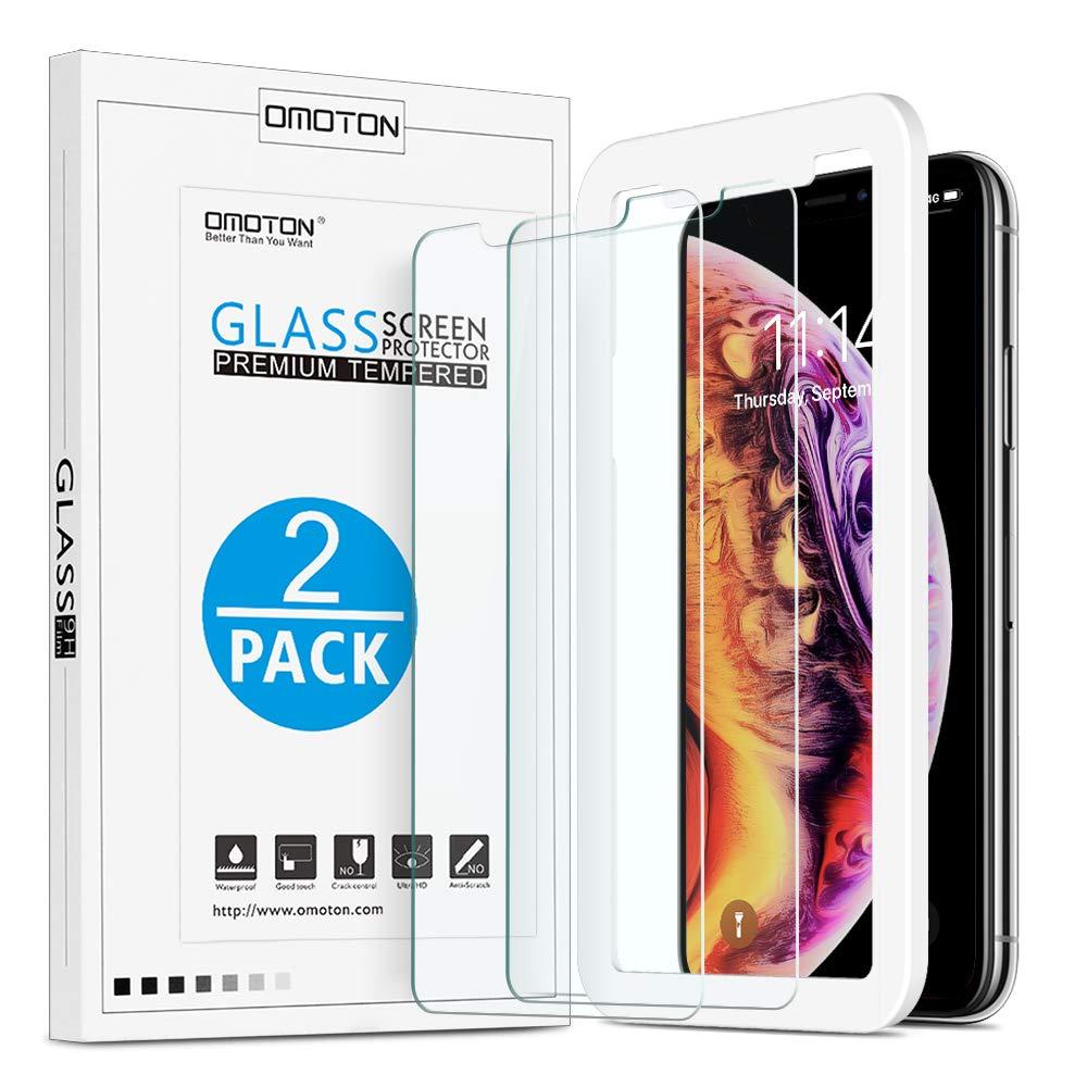 Vidrio Templado Para iPhone X/xs Omoton [2un.]