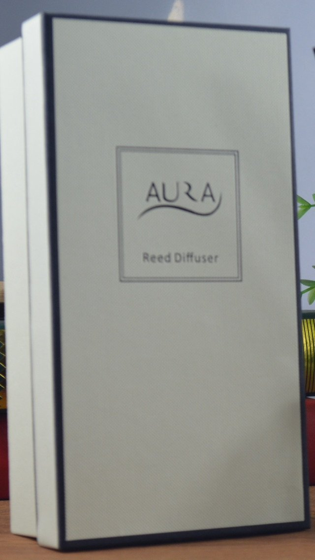 Luxury Reed Diffuser with 10 Reed Sticks, 120ml, Fresh Linen by Aura (Image #4)