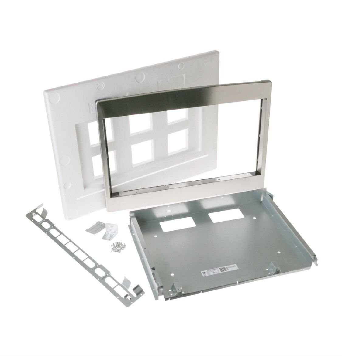 """27"""" Deluxe Trim Kit for 2.1 Cu. Ft. Microwave Ovens in Stainless Steel"""