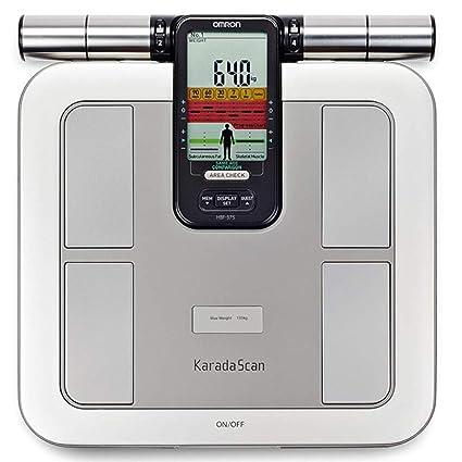 OMRON HBF-375 - Báscula de baño (Báscula personal electrónica, 135 kg,