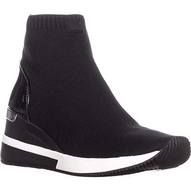 95ae0dfe206d Michael Kors Skyler Black Sock Wedge Booties 41 Black  Amazon.co.uk ...