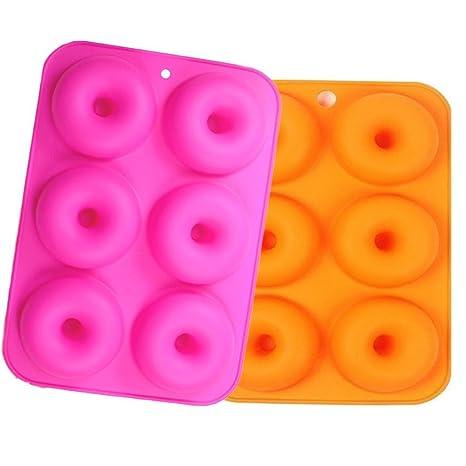 Molde de silicona para moldes, Wady 2 pcs antiadherente para hornear bandeja de tamaño completo