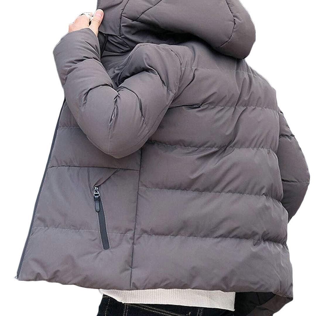 UNINUKOO Unko Mens Packable Hooded Down Jacket Autumn Winter Light Weight Down Coat