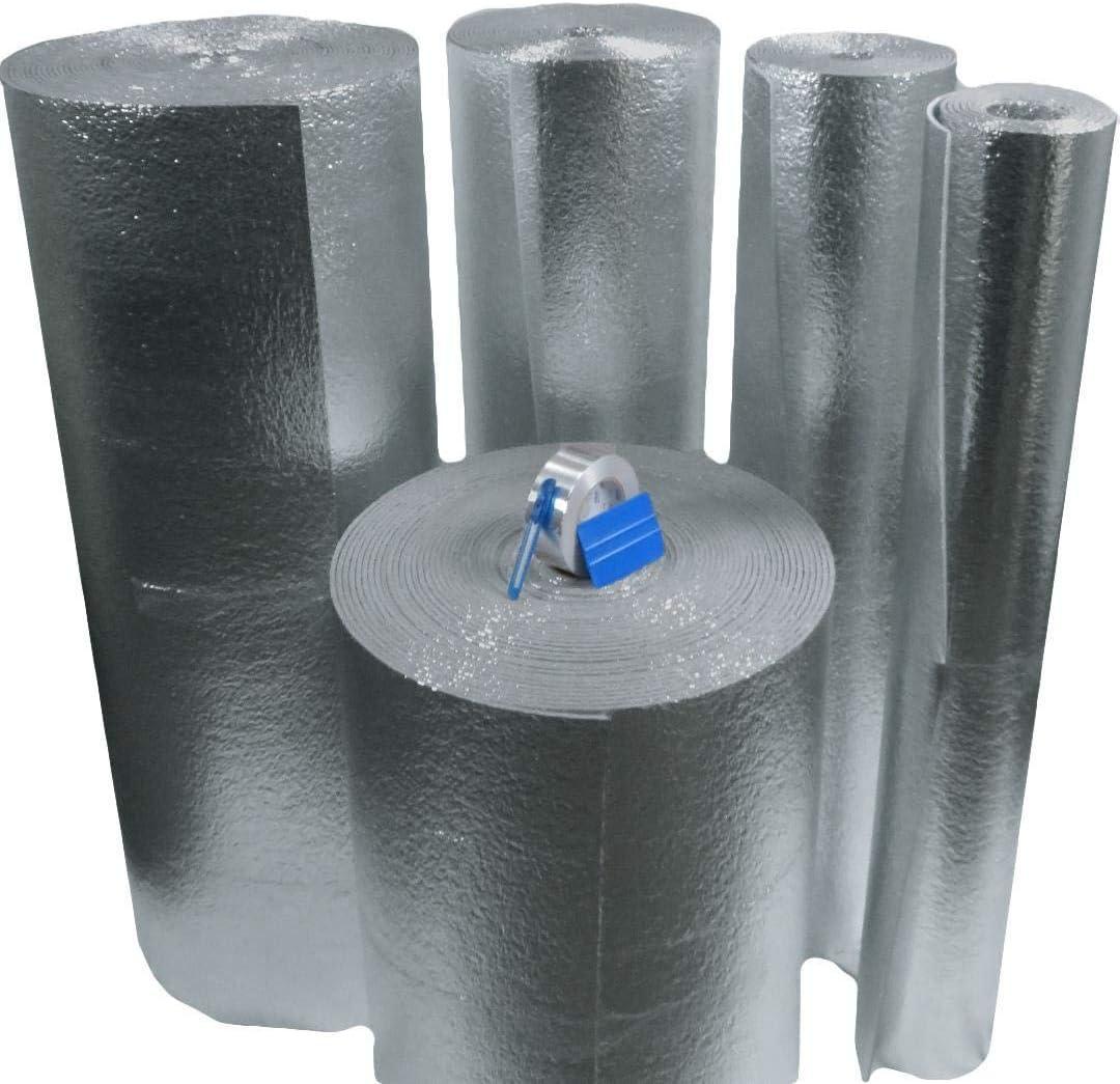 US Energy Products MWS Reflective Foam Core Insulation Weatherization Kit Roll 24
