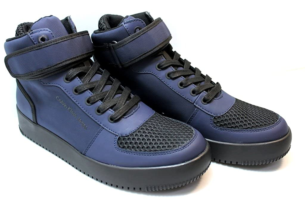 Chaussures Homme Calvin Klein Neoprene Bleu F0774 ZUQPYcma