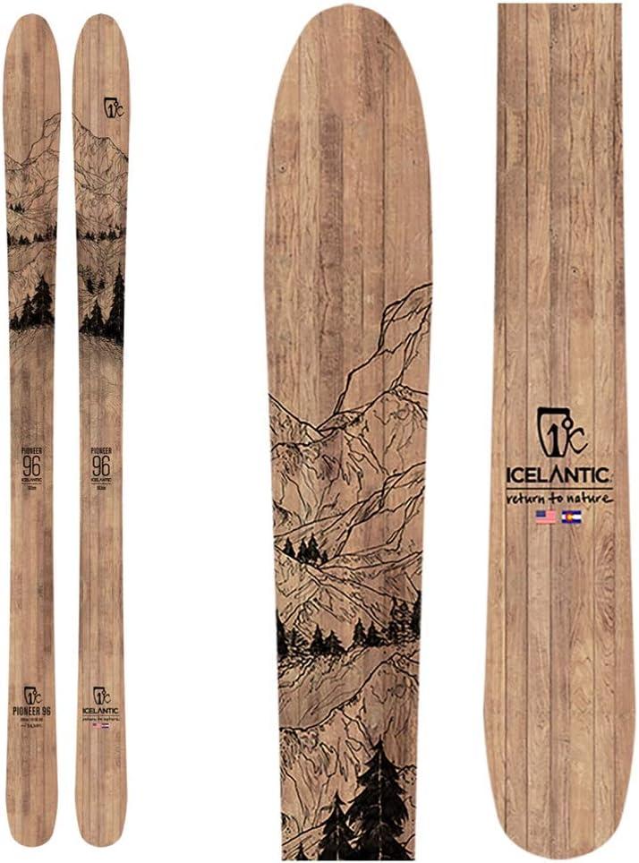 スキー板 Icelantic(アイスランティック) 19/20 Pioneer 96  166cm