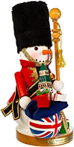 "Kurt S. Adler 13.25"" Steinbach Britain Snowman Nutcracker"