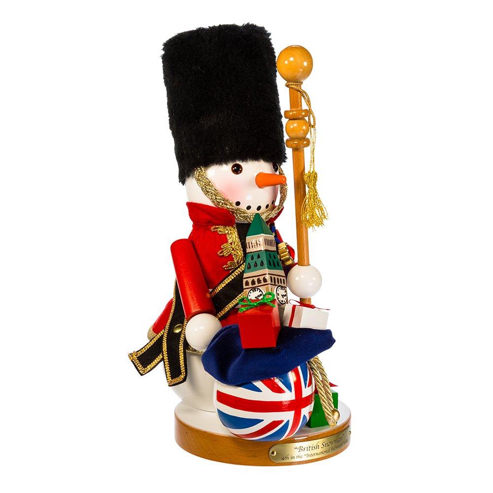Kurt S. Adler 13.25'' Steinbach Britain Snowman Nutcracker