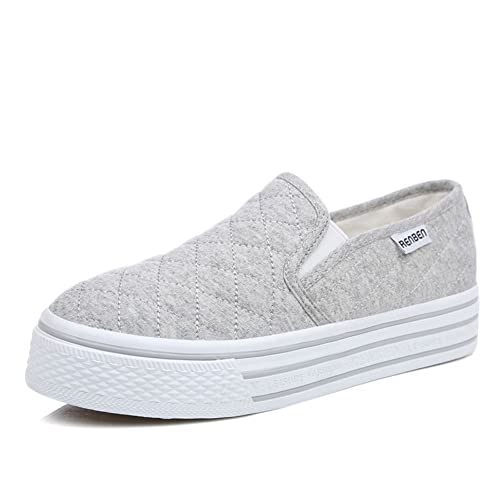 De los hombres zapatos planos en primavera/zapatos casuales/Zapatos del estudiante-C Longitud del pie=23.8CM(9.4Inch) 1PKJvtyL5l