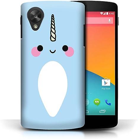 Stuff4 - Funda para teléfono GG-CC/Cute Narwhal Unicorn Kawaii ...