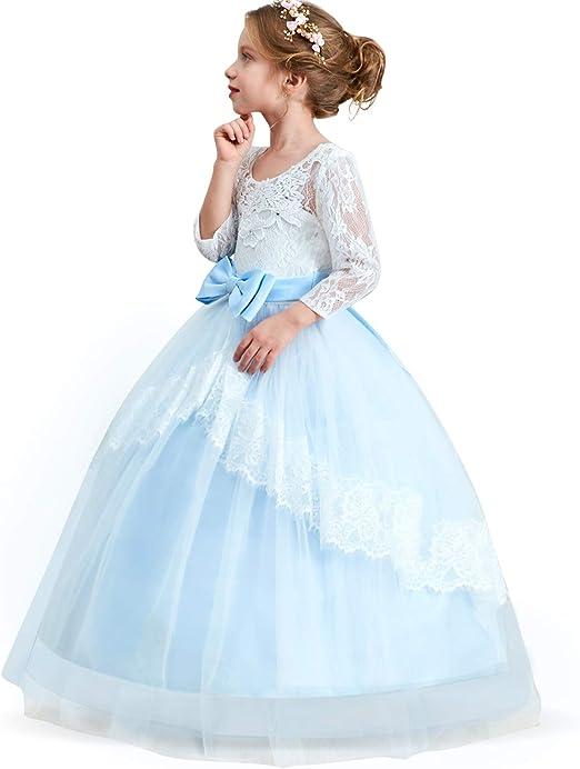 Vestiti Da Ragazza Eleganti.Ttyaovo Vestito Da Principessa Bambina Ragazze Vestito Elegante