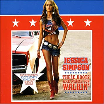 8c51389dcd6 Jessica Simpson - These Boots Are Made for Walking Pt.2 - Amazon.com Music