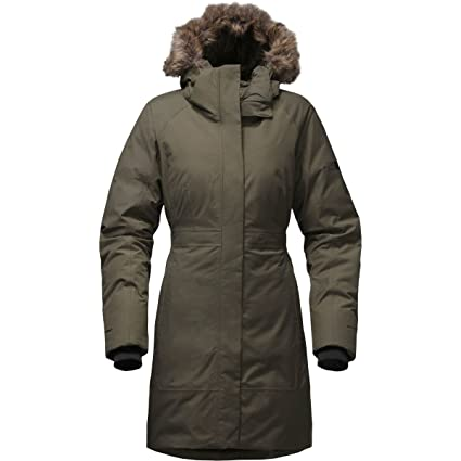 The North Face Outerwear TNF Chaqueta, Mujer, Verde (New Taupe Green),