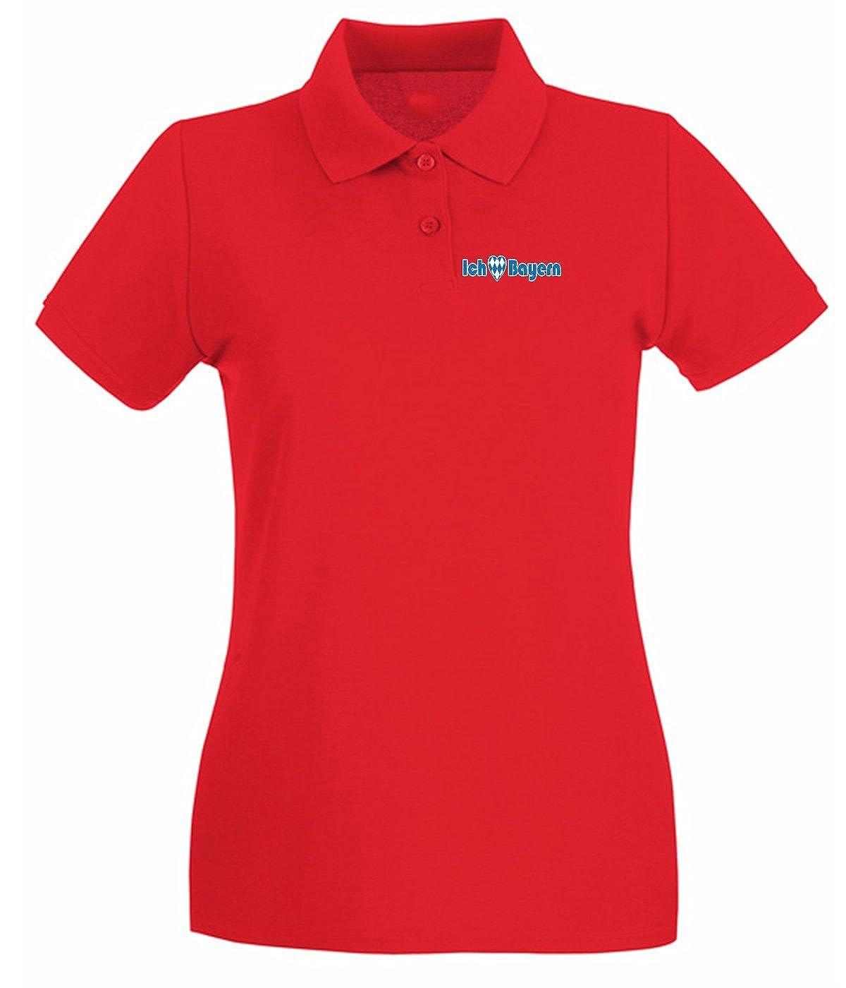 T-Shirtshock - Polo para Mujer WC0211 Bayern Munich T-Shirt - I ...