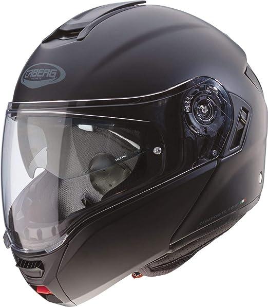 Caberg Levante Motorrad Klapp Helm Schwarz Matt Sonnenblende Pinlock Integral Jet, C0GA0017, Größe M: Amazon.es: Deportes y aire libre