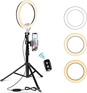 Former Photography Beauty Light Makeup Mirror Lights Live Phone Ring Light Compact LED lamp Lights USB Camera United States Yanbu Guang