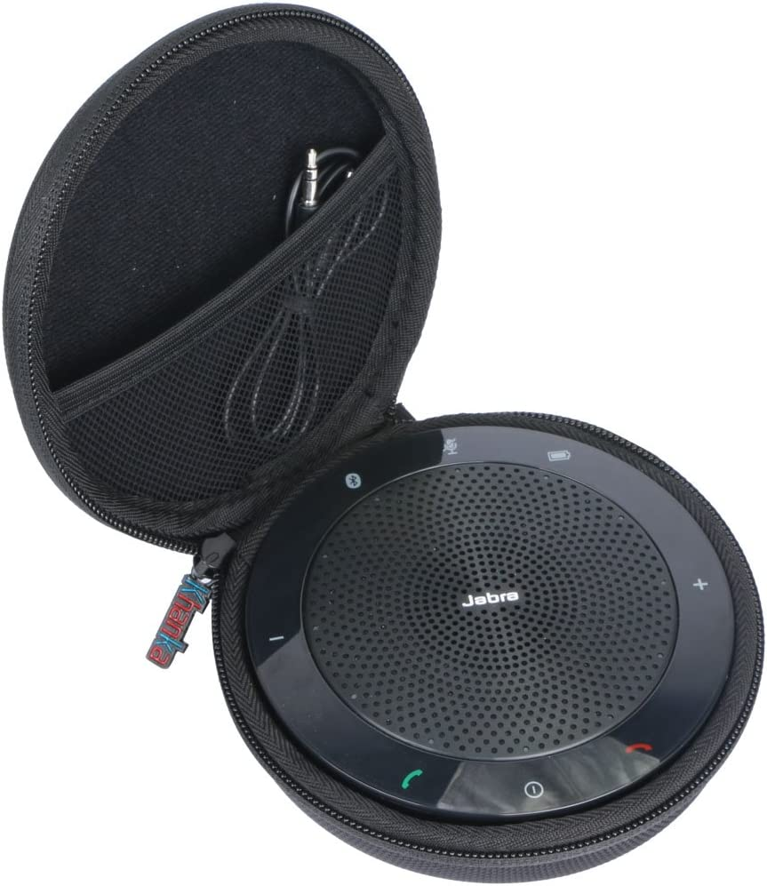 Khanka para Jabra Speak 510 - Altavoz portátil (Bluetooth) EVA Funda Estuche Bolso by