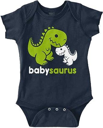 Babysaurus Cute Dinosaur Dino Adorable Gift Infant Gerber Onesie Baby Bodysuit