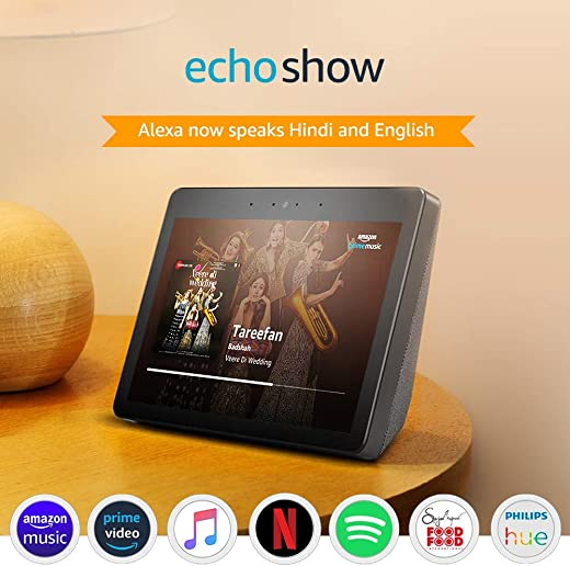 Echo Show - Premium sound and a vibrant 10.1