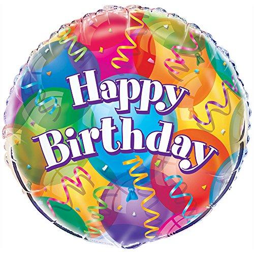 18 Foil Brilliant Birthday Balloon