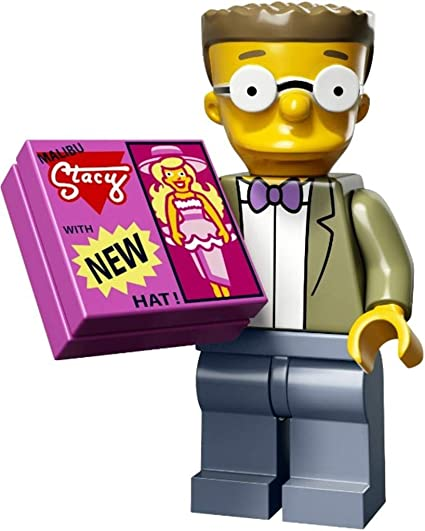 Genuine Lego 71009 Minifigure The Simpsons Series 2 no.9 Professor Frink
