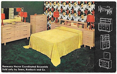 Advertising Postcard for Harmony House Bedding at Sears Roebuck Co~101198