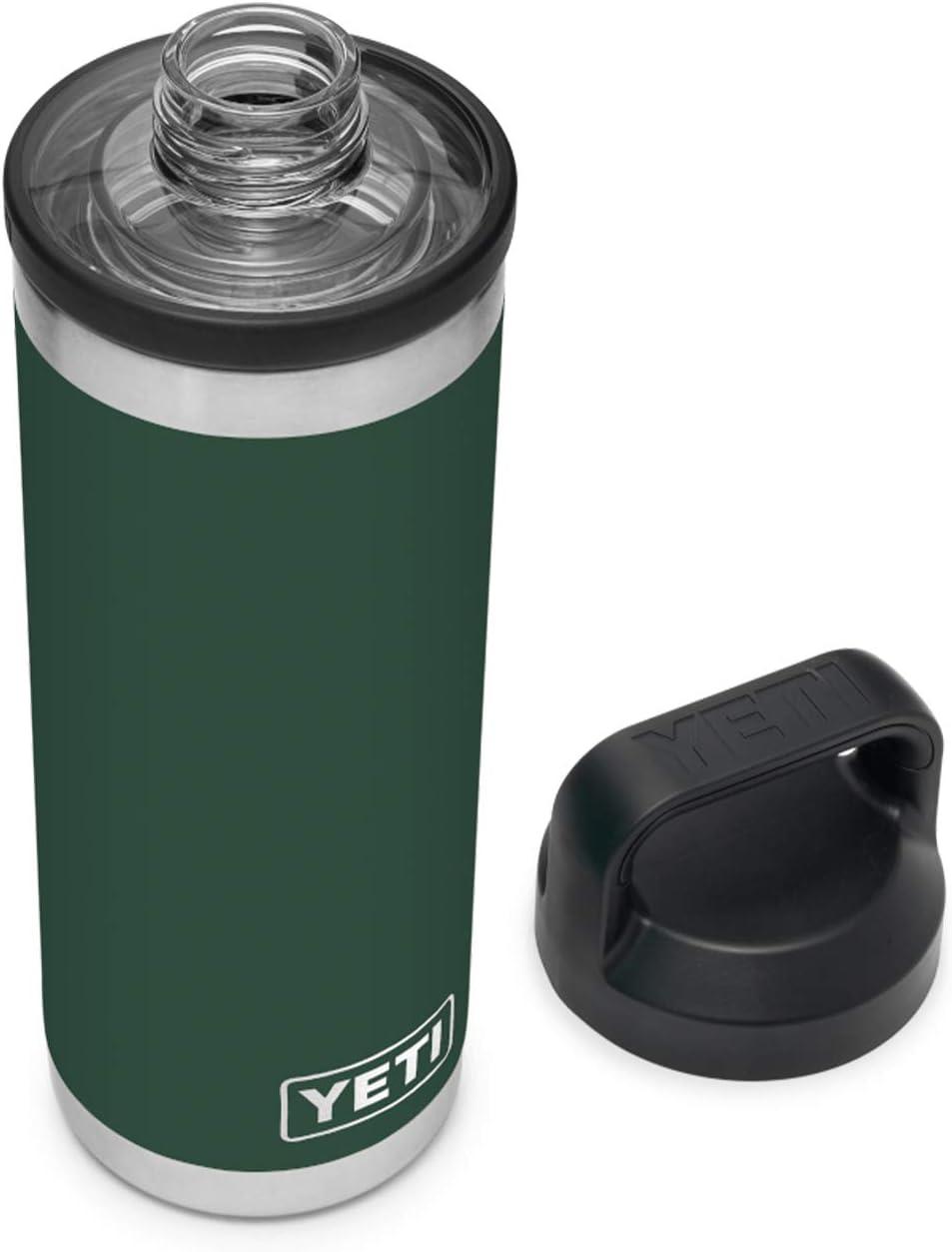 YETI Rambler 18 oz Bottle, Vacuum Insulated, Stainless Steel with Chug Cap