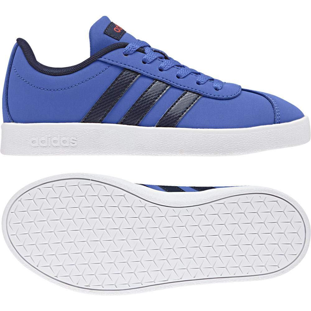 Bleu (Azalre Maruni Roalre 000) adidas VL Court 2.0 K, Chaussures de Gymnastique Mixte Enfant 31 EU