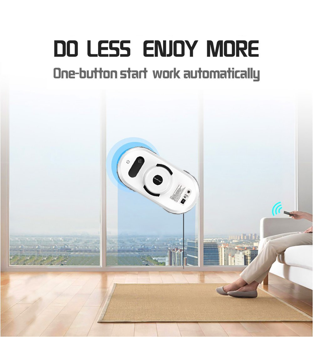 Judixy Window Cleaner Robot, Ultra-Fast Cleaning Speed for Inside and Outdoor by JUDIXY (Image #5)