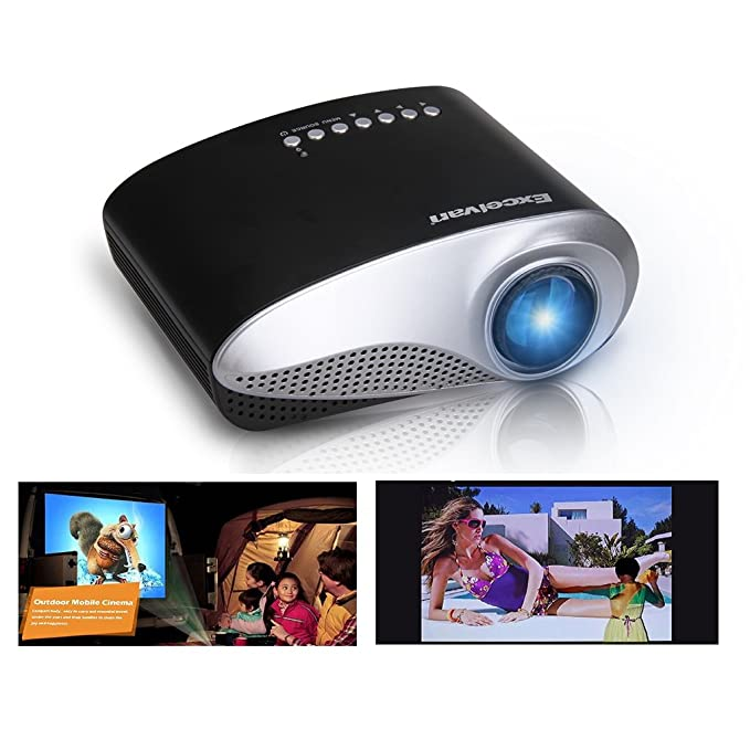 Amazon.com: Excelvan LED/LCD Portable Mini Multimedia Home ...