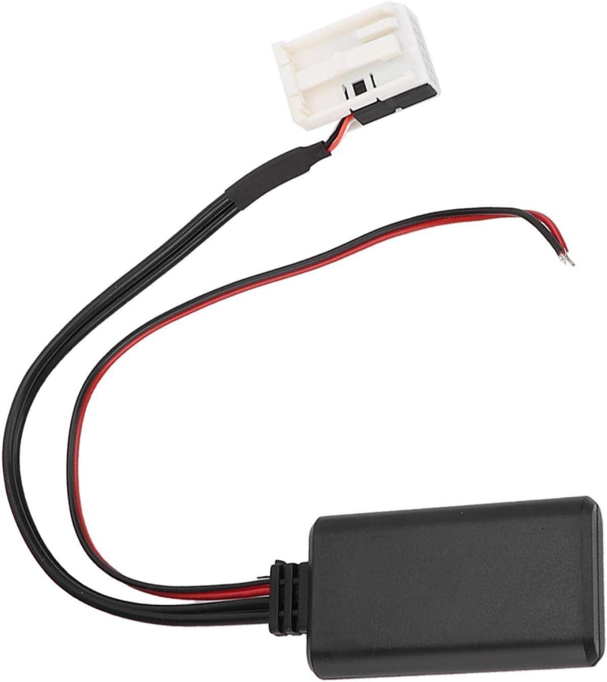 Adaptador de cable auxiliar Adaptador de coche Bluetooth Cable auxiliar de audio estéreo apto para Merc-edes Be-nz