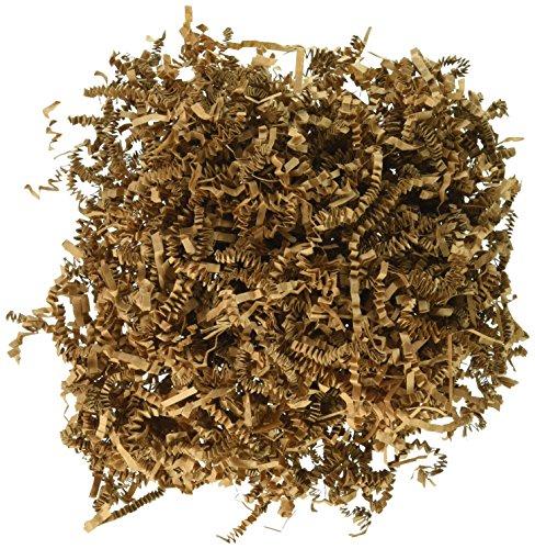 SPRING-FILL C2 ozKRHS-P Paper Shred, 2 oz, Natural Kraft