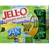 Jell-O Jigglers Mold Kit, Dinosaurs, 12 Ounce - Berry Blue & Lemon