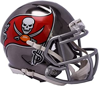 Riddell Mini Football Helm - NFL Chrome Tampa Bay Buccaneers