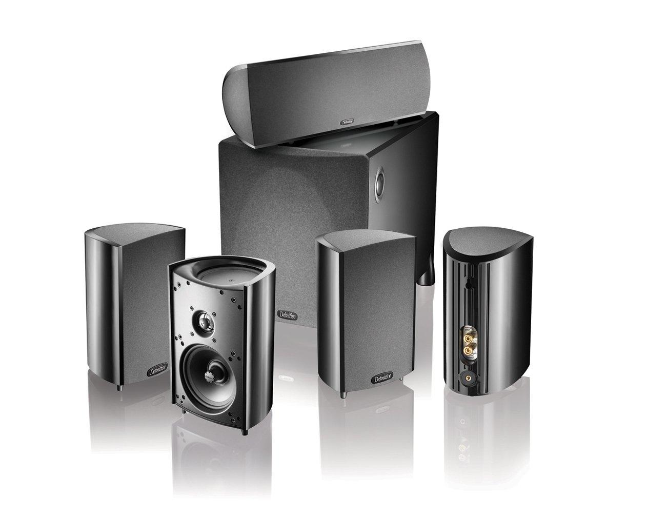 Definitive Technology Pro Cinema 800 System Black Pro Cin 800 BK