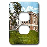 3dRose LLC lsp_61752_6 Whiteford Smith Library, Wofford College, Spartanburg, Sc   2 Plug Outlet Cover